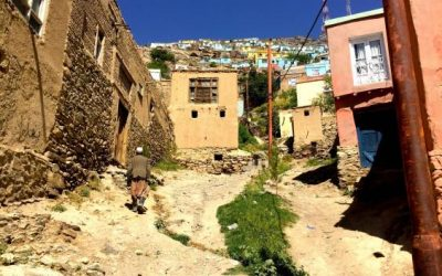 Το πολύχρωμο χωριό του Αφγανιστάν, προσδοκεί βελτίωση της ψυχικής υγείας