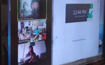 Διαδικτυακή συνάντηση Ξενώνα της ΚΛΙΜΑΚΑ